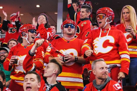 Fans of the Calgary Flames