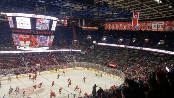 Calgary Flames New York Islanders Calgary Stampede Corral