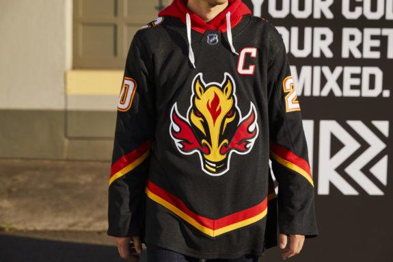 Calgary Flames Reverse Retro
