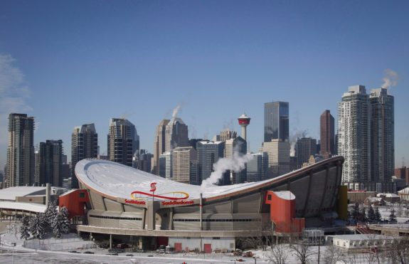 Flames Saddledome CP
