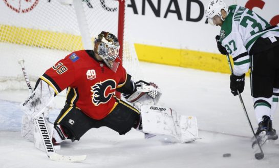 Flames Make Right Choice Starting Talbot in Net