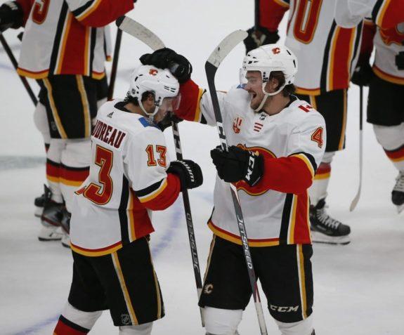 Calgary Flames Johnny Gaudreau Rasmus Andersson