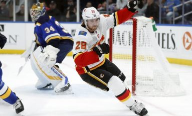 Flames Rewarded Early by New Top Line of Tkachuk, Lindholm & Dube