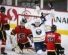 Sabres Survive Flames on Eichel's OT Winner