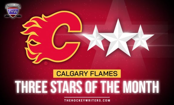 Calgary Flames Three Stars of the Month