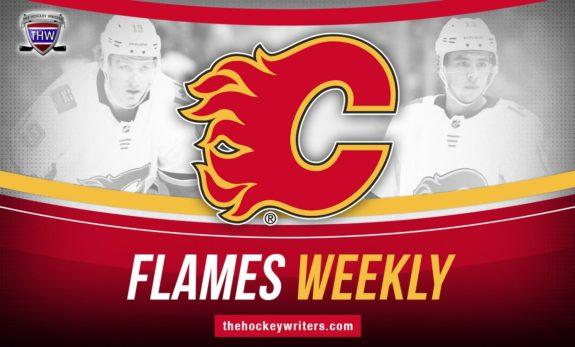 Calgary FLAMES WEEKLY Johnny Gaudreau Matthew Tkachuk