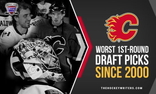 Flames' Worst 1st-Round Draft Picks Since 2000