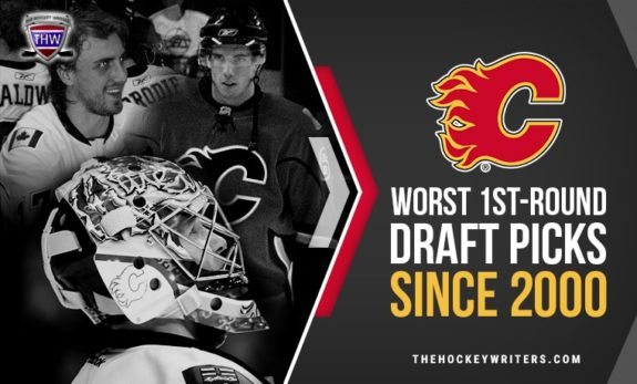 Calgary Flames' Worst 1st-Round Draft Picks Since 2000 Leland Irving, Matt Pelech, and Kris Chucko