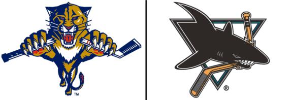 Florida Panthers San Jose Sharks Logo