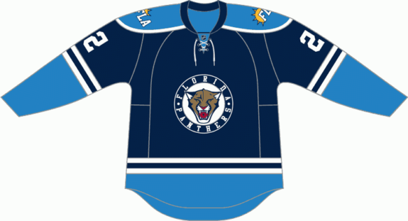 quality design 424c7 01aa3 Florida Panthers Jersey History