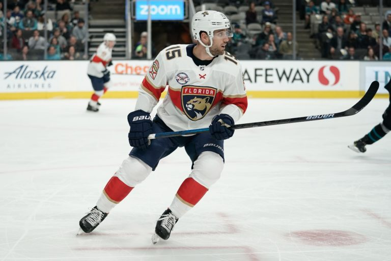Florida Panthers Riley Sheahan
