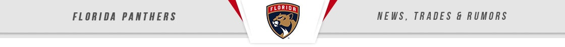 Florida Panthers News, Trades & Rumors