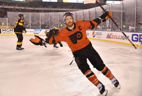 Philadelphia Flyers center Claude Giroux
