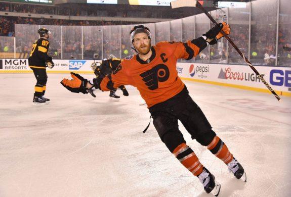 Philadelphia Flyers center Claude Giroux