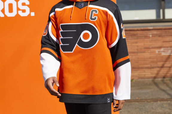 Philadelphia Flyers Reverse Retro jersey