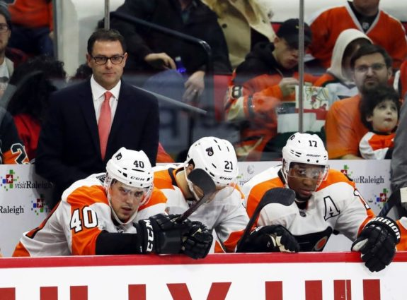 Philadelphia Flyers interim head Scott Gordon