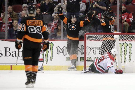 Philadelphia Flyers Travis Konecny Nolan Patrick