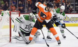 Flyers Beat Stars to End 8-Game Slide
