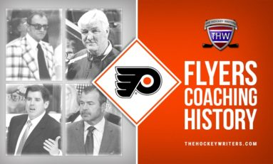 Philadelphia Flyers' Coaching History