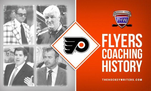 Philadelphia Flyers' Coaching History Fred Shero, Pat Quinn, Peter Laviolette, and Alain Vigneault