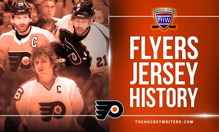 Philadelphia Flyers Jersey History Bobby Clarke Peter Forsberg Claude Giroux
