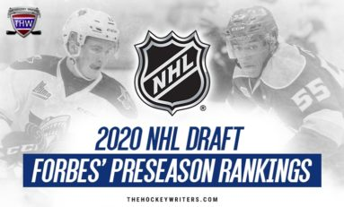 2020 NHL Draft: Forbes' Top 62 Preseason Rankings