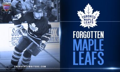 Maple Leafs' Forgotten Ones: Mikael Renberg