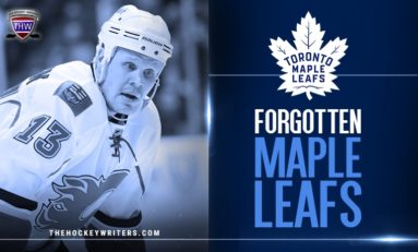 Maple Leafs' Forgotten Ones: Olli Jokinen