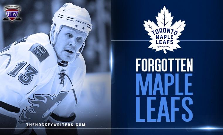 Forgotten Maple Leafs Toronto Olli Jokinen