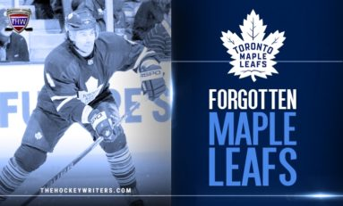 Maple Leafs' Forgotten Ones: Jeff Finger