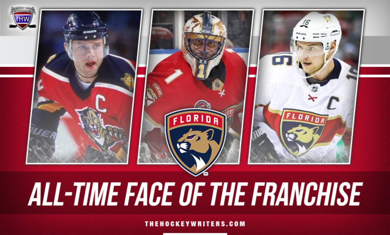 All-Time Face of the Franchise Florida Panthers Roberto Luongo, Pavel Bure, Aleksander Barkov