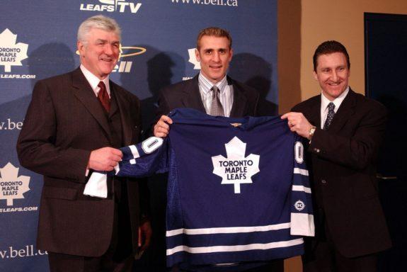 Ron Francis Pat Quinn John Ferguson Toronto Maple Leafs