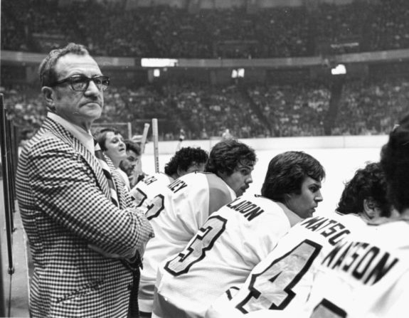 Head Coach Fred Shero