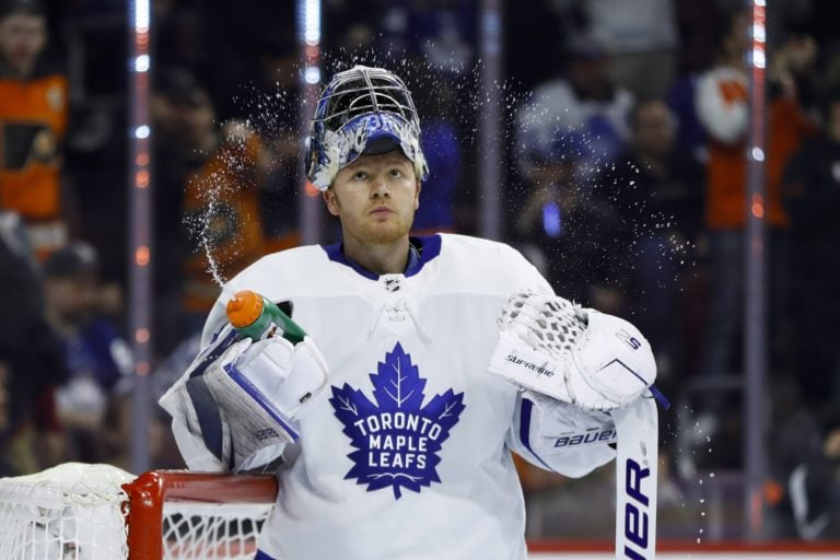 Toronto Maple Leafs' Frederik Andersen
