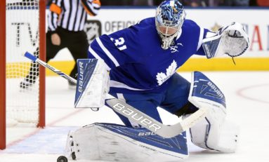 Maple Leafs' Andersen Has Stepped Up