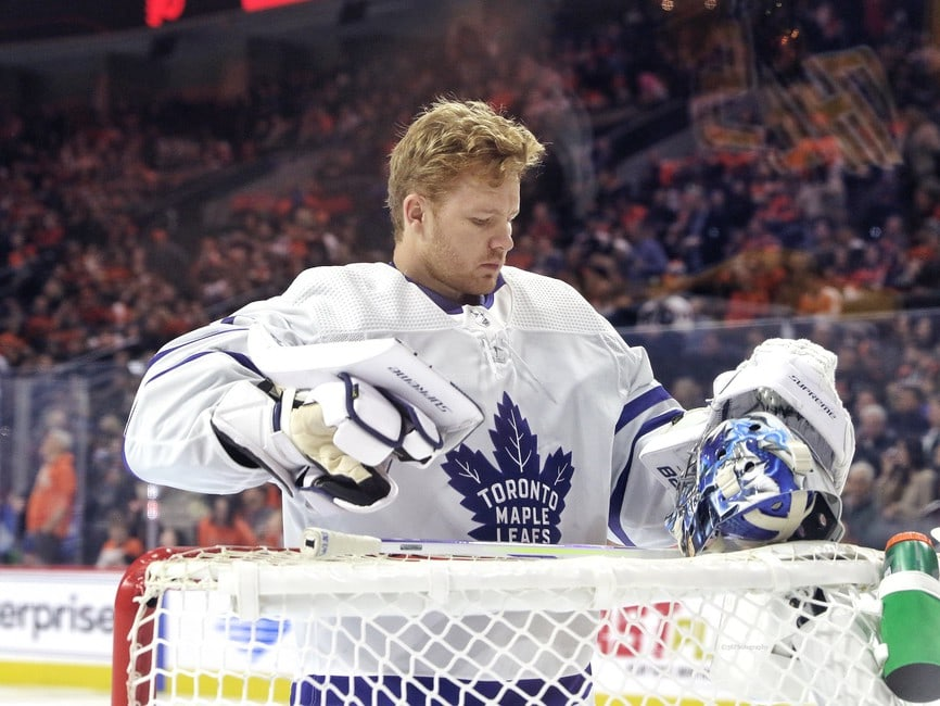 Maple Leafs News Rumors What Now With Frederik Andersen