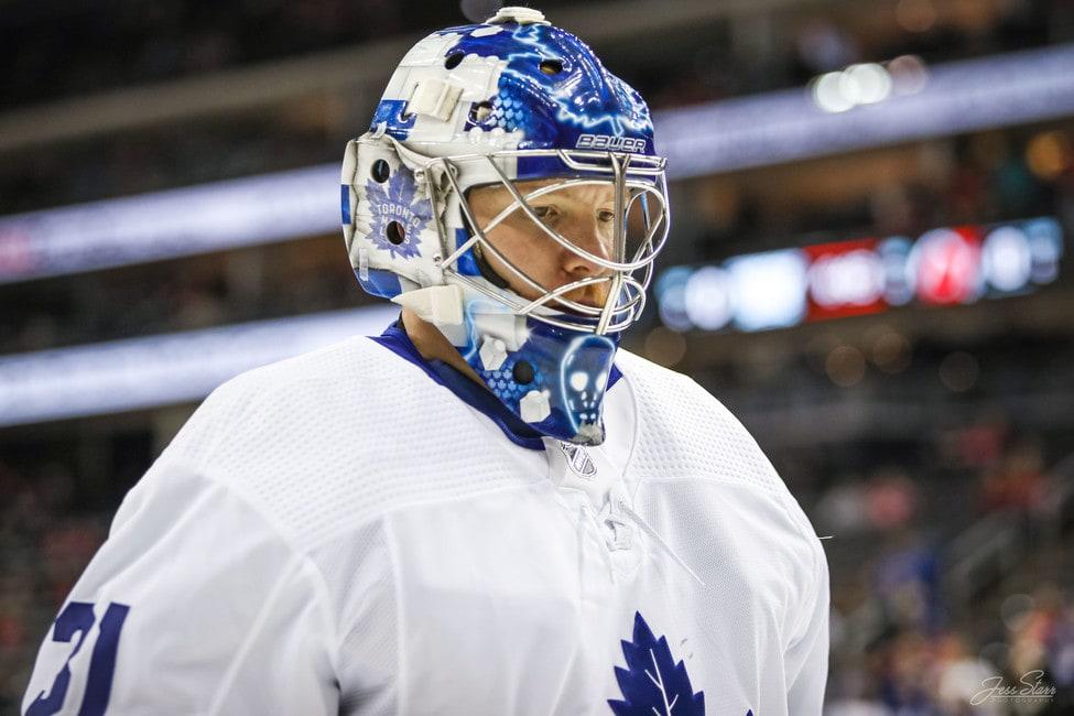 Frederik Andersen Toronto Maple Leafs