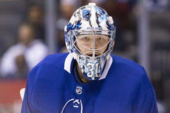 Toronto Maple Leafs Frederik Andersen