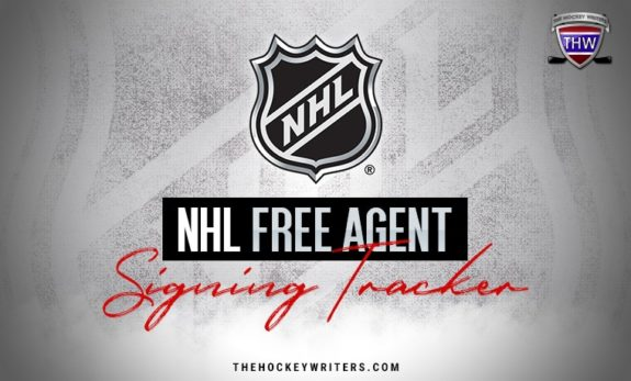 Instagram July 1st NHL Free Agent Tracker 2019