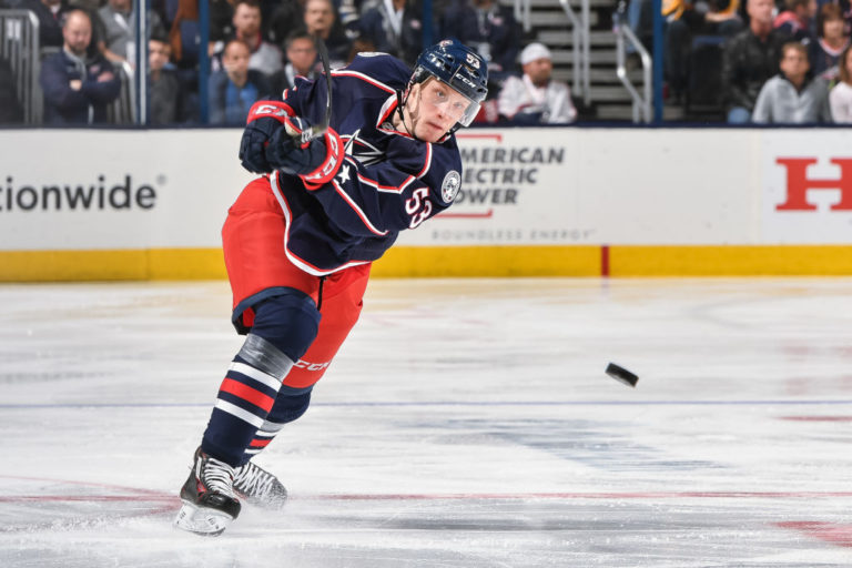 Gabriel Carlsson Blue Jackets