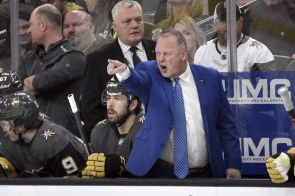 Vegas Golden Knights Gerard Gallant