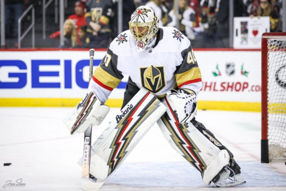 Garret Sparks Vegas Golden Knights