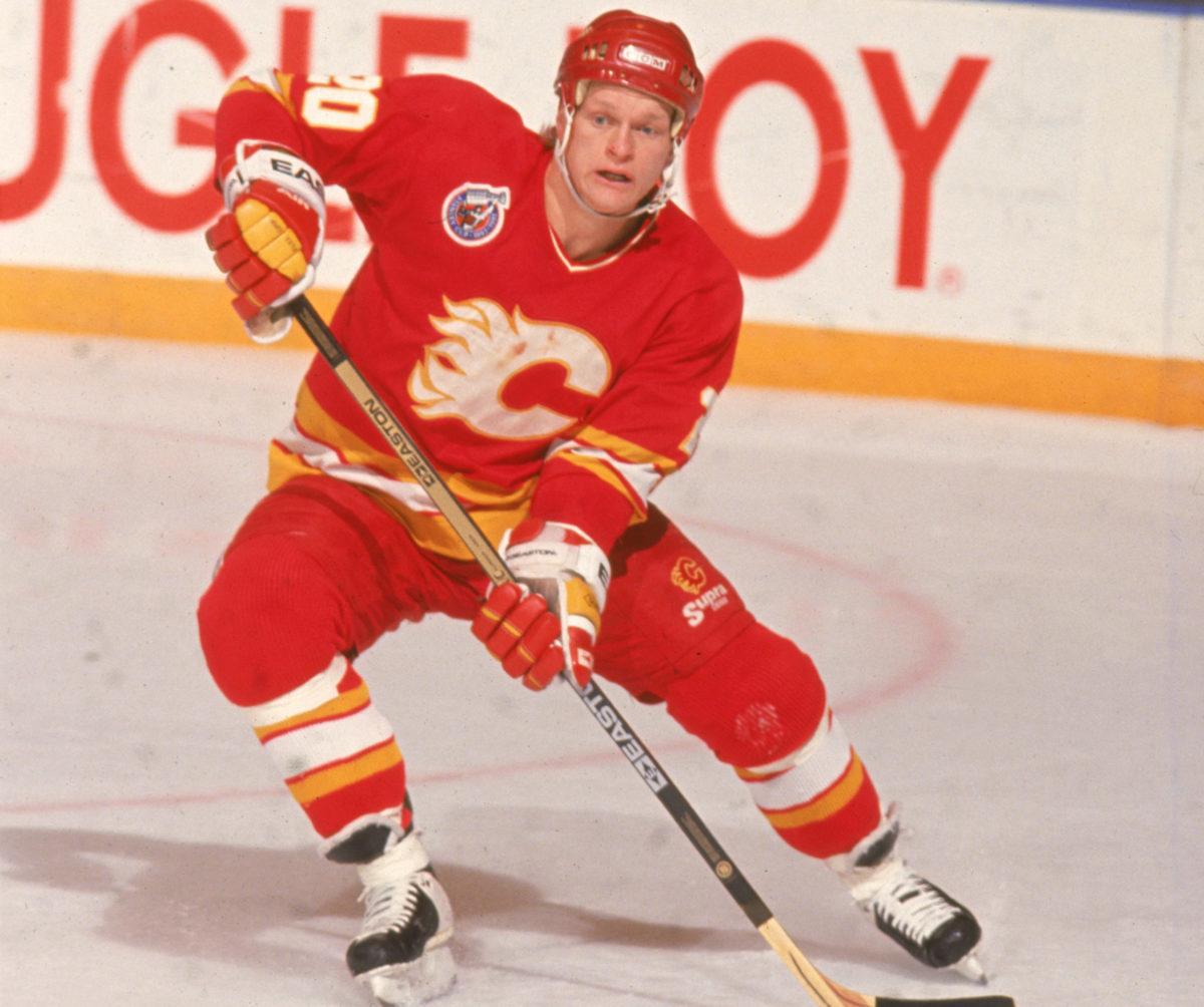 Gary Suter Calgary Flames