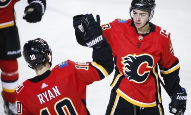 Calgary Flames Look to Undersized Players for Some 'Heavy Lifting'