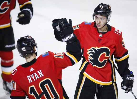 Johnny Gaudreau, Derek Ryan