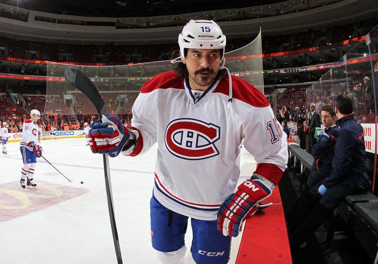 George Parros Montreal Canadiens