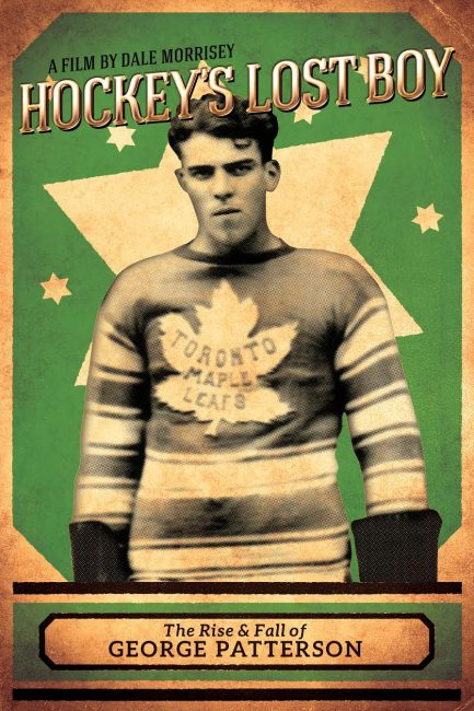 George Patterson, Hockey's Lost Boy, NHL, Toronto Maple Leafs, Maple Leafs
