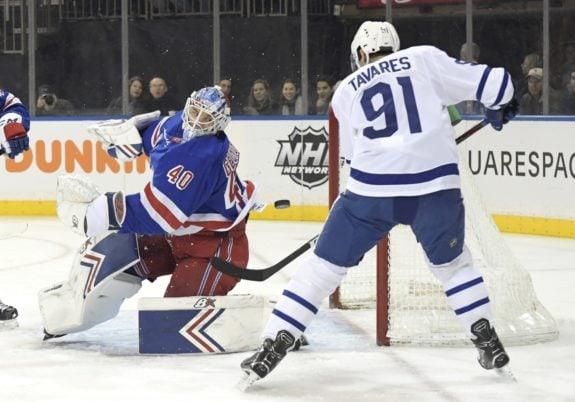New York Rangers Alexandar Georgiev Toronto Maple Leafs John Tavares