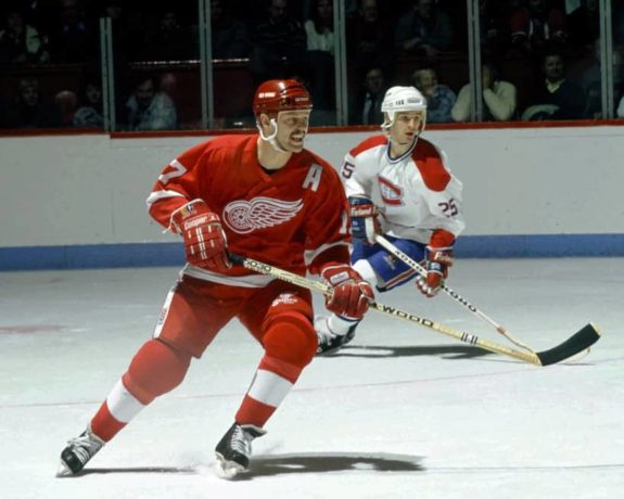 Former Detroit Red Wings forward Gerard Gallant