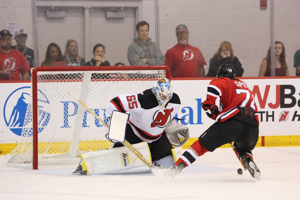 New Jersey Devils  Behind the Mask with Prospect Gilles Senn aa9908103